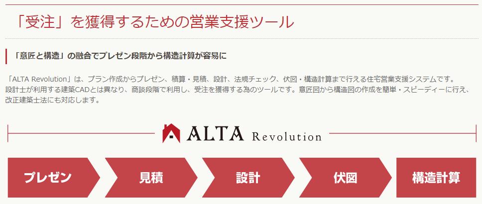ALTA(アルタ)とは?
