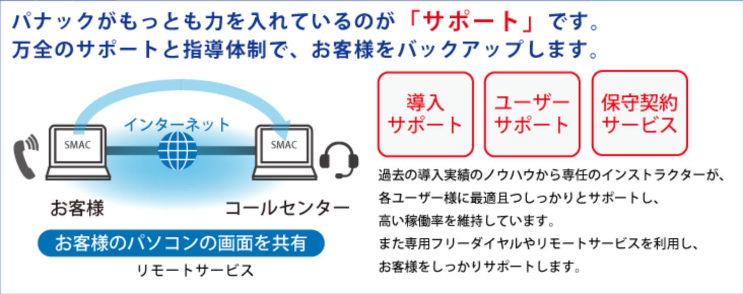 SMAC工事管理 専門スタッフによるサポート